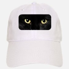Black Cat Eyes Baseball Baseball Cap