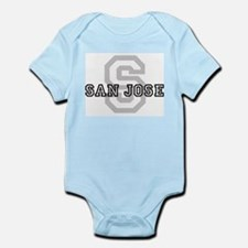 Letter S: San Jose Infant Creeper