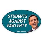 Students Against Pawlenty bumper sticker