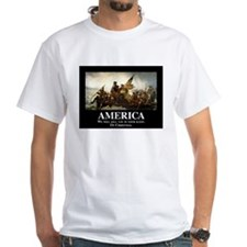 America: We will kill you in your sl Shirt