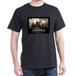 America: We will kill you in your sle Dark T-Shirt