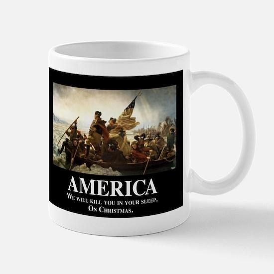 America: We will kill you in your sleep Mug