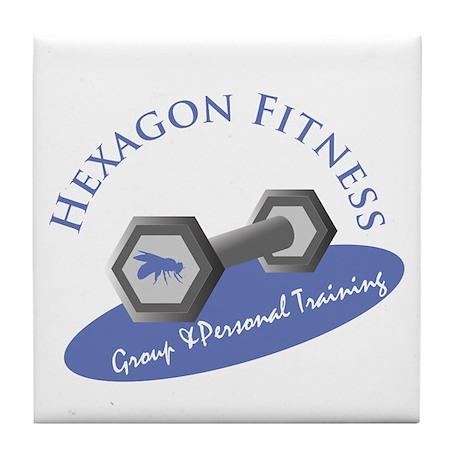 Hexagon Fitness Tile Coaster