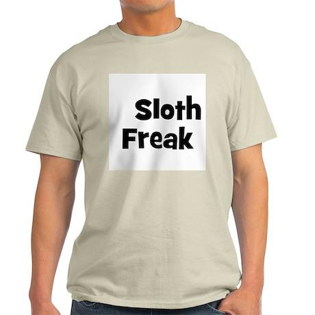 Sloth Freak Ash Grey T-Shirt