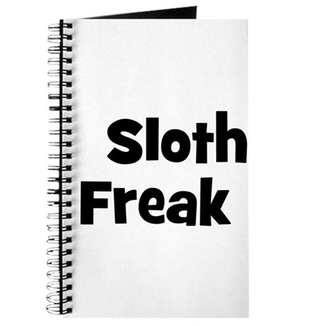 Sloth Freak Journal