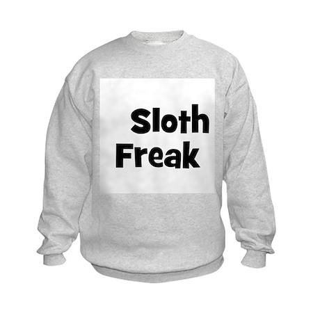 Sloth Freak Kids Sweatshirt