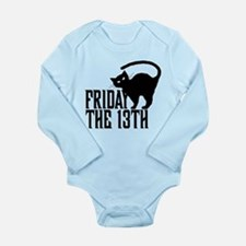 Friday the 13th Long Sleeve Infant Bodysuit