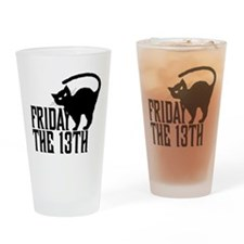 Friday the 13th Pint Glass