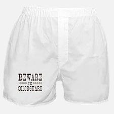 Beware the Colorguard Boxer Shorts