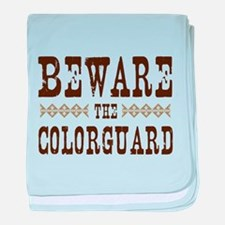 Beware the Colorguard baby blanket