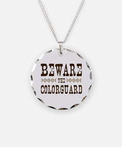 Beware the Colorguard Necklace