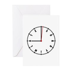 Sorry I'm Late Greeting Cards (Pk of 20)