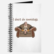 I Don't Do Mornings (A) Journal