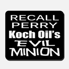 Recall Governor Rick Perry Mousepad