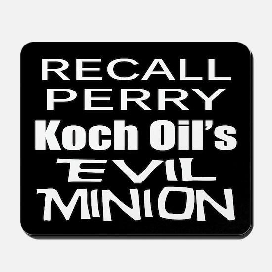 Recall Governor Rick Perry Mousepad