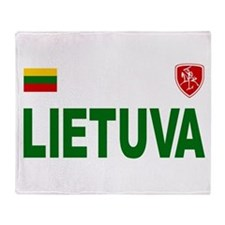 Lietuva Olympic Style Throw Blanket
