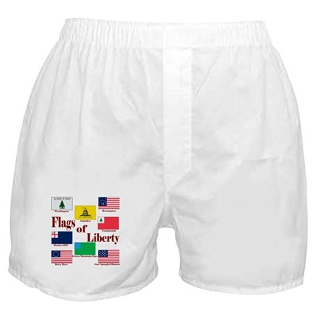 The Flags Of Liberty Boxer Shorts