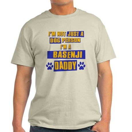 Basenji Daddy Light T-Shirt