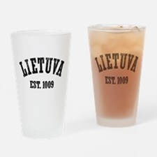 Lietuva Est. 1009 Pint Glass