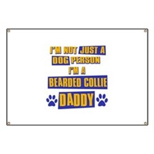 Bearded Collie Daddy Banner