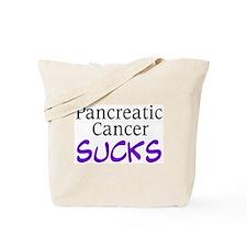 Pancreatic Cancer Sucks Tote Bag