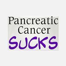 Pancreatic Cancer Sucks Rectangle Magnet