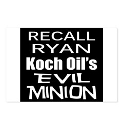 Recall House Rep Paul Ryan Postcards (Package of 8