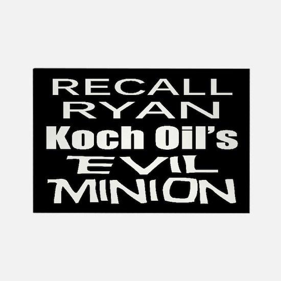 Recall House Rep Paul Ryan Rectangle Magnet