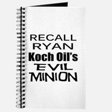 Recall House Rep Paul Ryan Journal