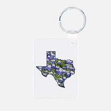 TX Bluebonnets Keychains
