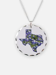 TX Bluebonnets Necklace