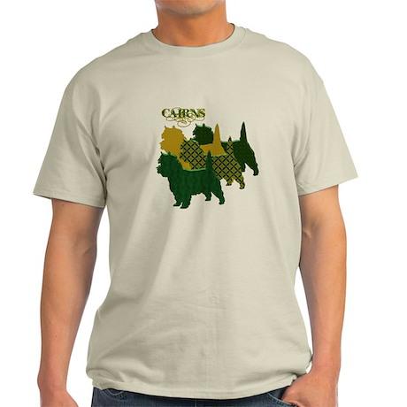 Cairn Terrier Silhouttes Light T-Shirt
