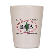 Baja Norte Surf Spots Shot Glass
