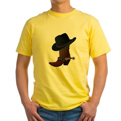 Western Boot & Hat Icon T