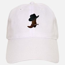 Western Boot & Hat Icon Cap