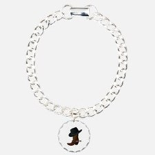 Western Boot & Hat Icon Bracelet