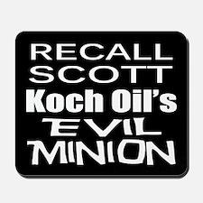 Recall Governor Rick Scott Mousepad