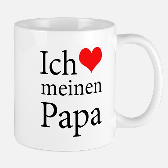I Love Dad (German) Mug