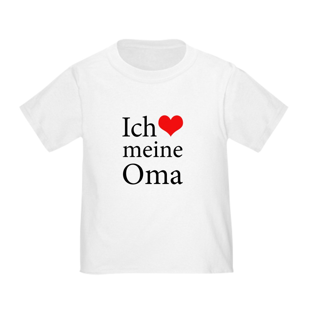 Toddler T Shirt Toddler T-Shirt 552735300 German CafePress I Love Grandma