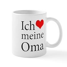 I Love Grandma (German) Mug