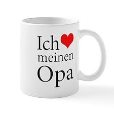 I Love Grandpa (German) Mug