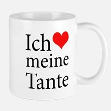 I Love Aunt (German) Mug