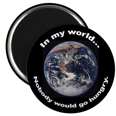 In My World Magnet