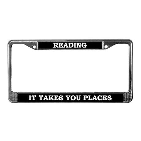 Reading License Plate Frame