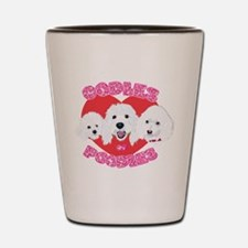 OODles of Poodles mass Shot Glass
