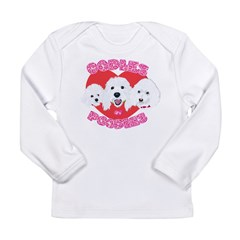 OODles of Poodles mass Long Sleeve Infant T-Shirt
