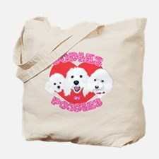 OODles of Poodles mass Tote Bag