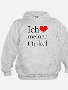 I Love Uncle (German) Hoodie