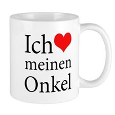 I Love Uncle (German) Mug
