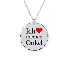 I Love Uncle (German) Necklace